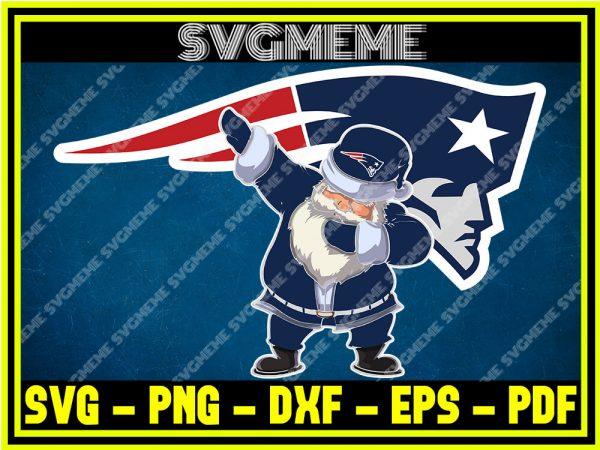 NFL-Santa-Claus-Dab-Style-New-England-Patriots